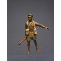 Callsign 1/35 Native Soldier Pacific (Fuzzy Wuzzy Angel)