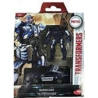 Dickies Toys Transformers Barricade 2-pack Robot & Vehicle Movie