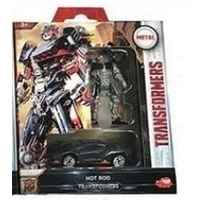 Dickies Toys Transformers Hot Rod 2-pack Robot & Vehicle Movie