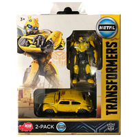 Dickies Toys Transformers VW Bumble Bee 2-pack Robot & Vehicle Movie