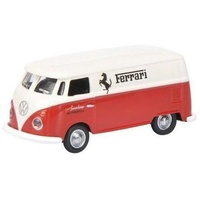 Schuco 1/87 VW T1 Ferrari Red/White