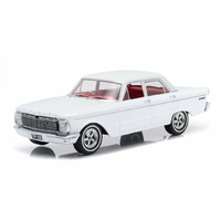 DDA 1/18 1965 XP Falcon Sedan White w/Custom Wheels (Sealed Body) 003-B Diecast