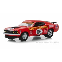 DDA 1/64 1969 Ford Mustang Boss 302 #102 Jim Richards Sidchrome Racing 51236 Diecast