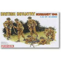 Dragon 6212 1/35 British Infantry (Normandy 1944) Plastic Model Kit