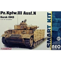 Dragon 6559 1/35 Pz.Kpfw.III Ausf.N Neo (Smart Kit) Plastic Model Kit