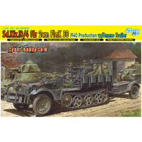 Dragon 1/35 Sd.Kfz.10/4 fur 2cm FlaK 30 w/Ammo Trailer DR 6711
