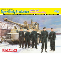 Dragon 1/35 Tiger 1 Tank Early Production Wittmanns Command DR 6730