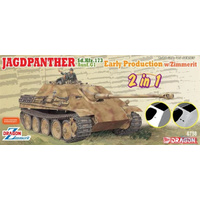 Dragon 1/35 Jagdpanther Early Production (2 in 1) Plastic Model Kit 6758