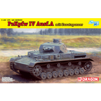 Dragon 1/35 Pz.kpfw.IV Ausf.A w/Add-on Armour DR 6816