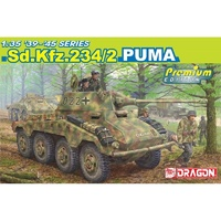 Dragon 6943 1/35 Sd.Kfz.234/2 Puma (Premium) Plastic Model Kit