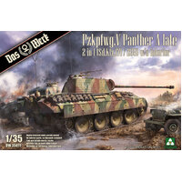 Daswerk 35011 1/35 Panther Ausf.A late (2 in 1) Plastic Model Kit