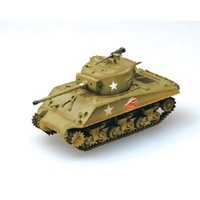 Easy Model 36255 1/72 M4A3 Sherman Middle Tank - U.S. Army 1944 Normandy Assembled Model