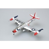 "Easy Model 36801 1/72 F-84G Thunderjet USAF ""Thunderbirds"" 1955 Assembled Model"