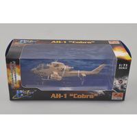 "Easy Model 37099 1/72 Helicopter - AH-1F Cobra ""Sand Shark"" Assembled Model"