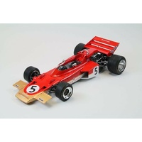 Ebbro 1/20 Formula 1 Car – Team Lotus Type 72C 1970 Plastic Car Kit