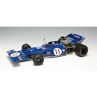 Ebbro 1/20 Formula 1 Car – Tyrrell 003 Monaco GP 1971 Plastic Car Kit