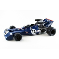 Ebbro 1/20 Formula 1 Car - Tyrrell 002 British GP 1971 Plastic Car Kit