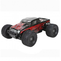 ECX 1/18 Ruckus th 4wd RTR Monster Truck, Black Red, ECX01000AUT1