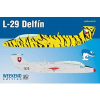 Eduard 1/48 L-29 Delfin Plastic Model Kit 8464