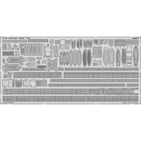 Eduard 53240 1/350 HMS Exeter railings Photo-etch set (Trumpeter)