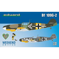 Eduard 1/48 Bf 109G-2 Plastic Model Kit 84148