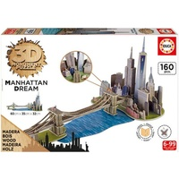 Educa 3D Monument Puzzle - Manhattan Dream 17000E