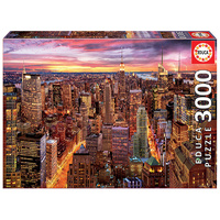 Educa 3000pce Manhattan Skyline Puzzle 17131