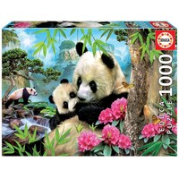 Educa 1000pce Morning Panda Puzzle 17995