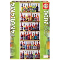 Educa 2000pce World Beers - Panorama Puzzle 18010