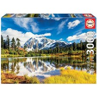 Educa 3000pce Monte Shuksan, Washington Puzzle 18011