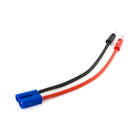 E-Flite EC5 Device Charge Lead w/150mm 12 AWG leads, EFLAEC512
