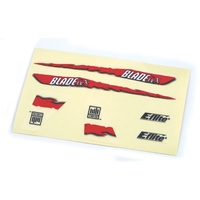 Blade Decal Sheet- Red Graphics BMCX