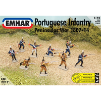 Emhar 1/72 British Infantry Peninsula War 1807-14