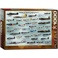 Eurographics 1000pce WWII Aircraft EUR60075