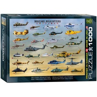 Eurographics 1000pce Military Helicopters EUR60088