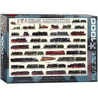 Eurographics 1000pce Steam Locomotives EUR60090