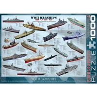Eurographics Wwii Warships 1000Pc Jigsaw Puzzle
