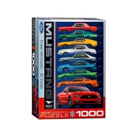 Eurographics 1000pce Ford Mustang 9 Model