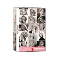 Eurographics 1000pce Marilyn Monroe Red Lips Puzzle
