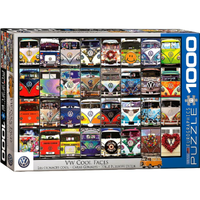 Eurographics 1000pce VW Cool Faces Puzzle