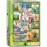 Eurographics Gold Around the World 1000pc Jigsaw Puzzle