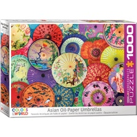 Eurographics Asian Oil-Paper Umbrellas 1000Pc Jigsaw Puzzle