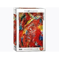 Eurographics 1000pc Chagall, Triumph Of Music Jigsaw Puzzle