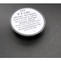 EZ Line Fine Charcoal 0.15mm x 30.5m - Easy To Use Rigging Thread