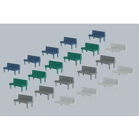Faller HO Benches (20 Assorted)