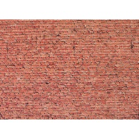 Faller HO Wall Card - Clinker Brick 25 x 12.5cm