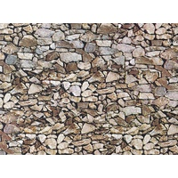 Faller HO Wall Panel - Natural Stone (Monzonite) 25 x 12.5cm170610