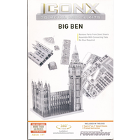 Metal Earth Iconix Big Ben Etched metal kit