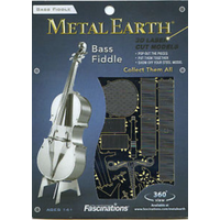 Metal Earth Bass Fiddle Puzzle Kit