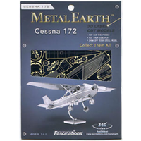 Metal Earth Cessna Metal Puzzle Kit
